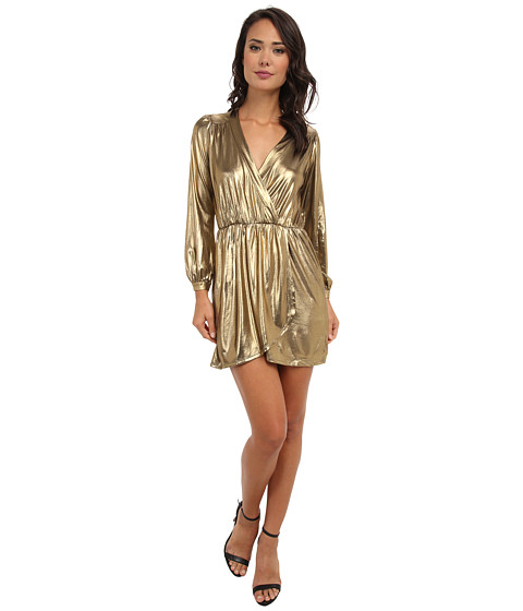 Brigitte Bailey - Demri Dress (Gold Shimmer) Women