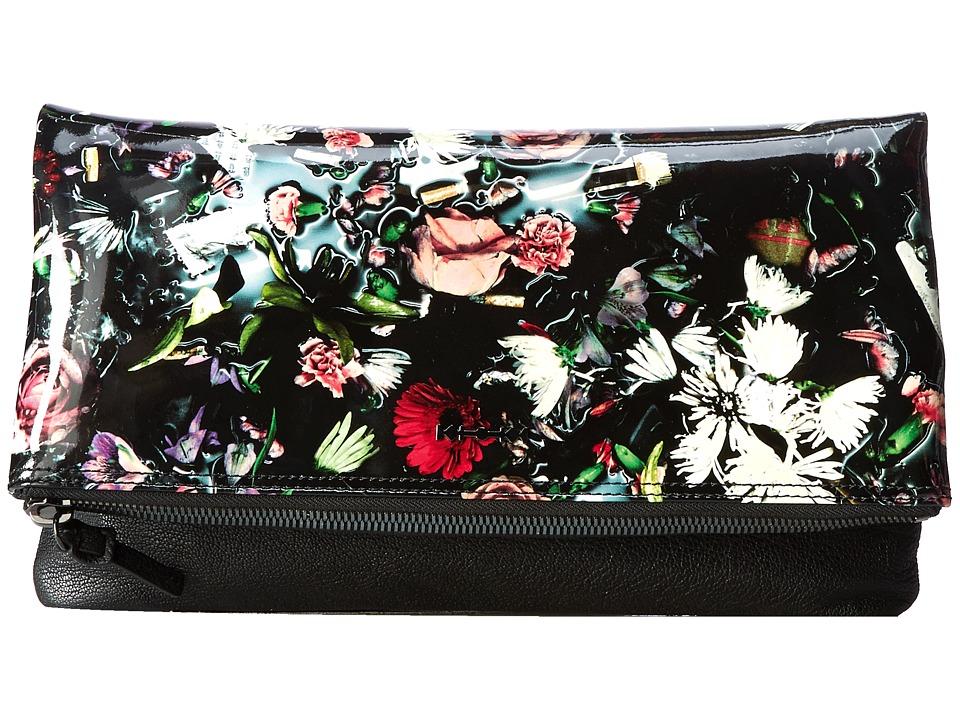 McQ - Fold Clutch (Festival Floral) Clutch Handbags