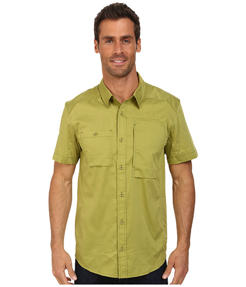 Arc'teryx - A2B SS Shirt (Opuntia) Men's Short Sleeve Button Up