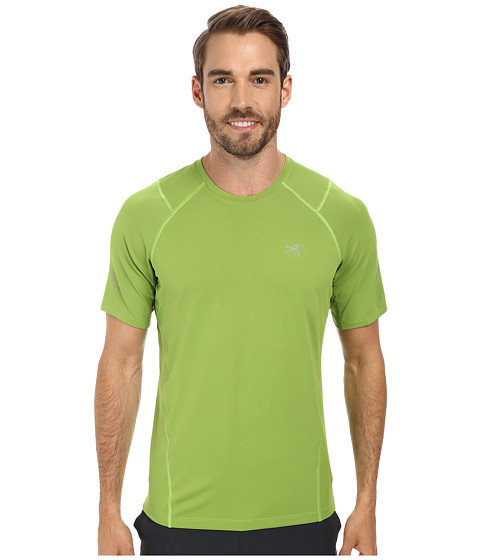 Arc'teryx - Accelerator S/S (Vert Green) Men's Clothing