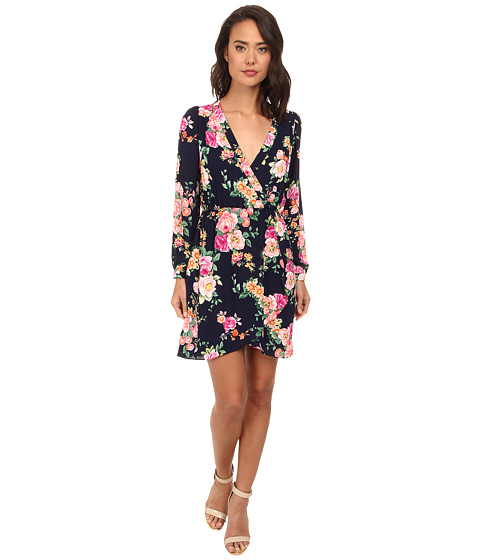 Brigitte Bailey - Demri Lux Dress (Navy Floral) Women's Dress