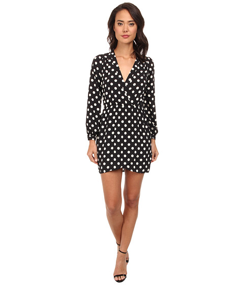 Brigitte Bailey - Demri Dress (Big Dot Navy/White) Women's Dress