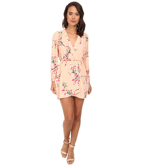 Brigitte Bailey - Demri Dress (Peach Floral 1) Women's Dress