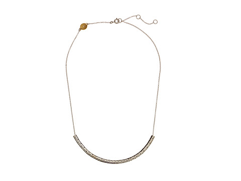 Marc by Marc Jacobs - All Tied Up Perf-Ection Tube Necklace (Argento) Necklace