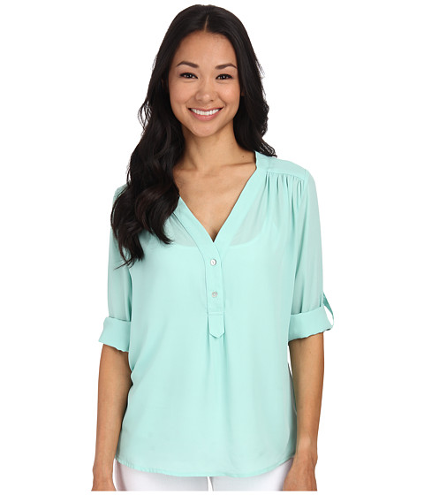 Brigitte Bailey - Lotus Blouse (Mint) Women's Blouse