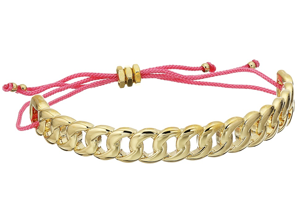 Marc by Marc Jacobs - Key Items Solidly Linked Friendship Bracelet (Oro) Bracelet