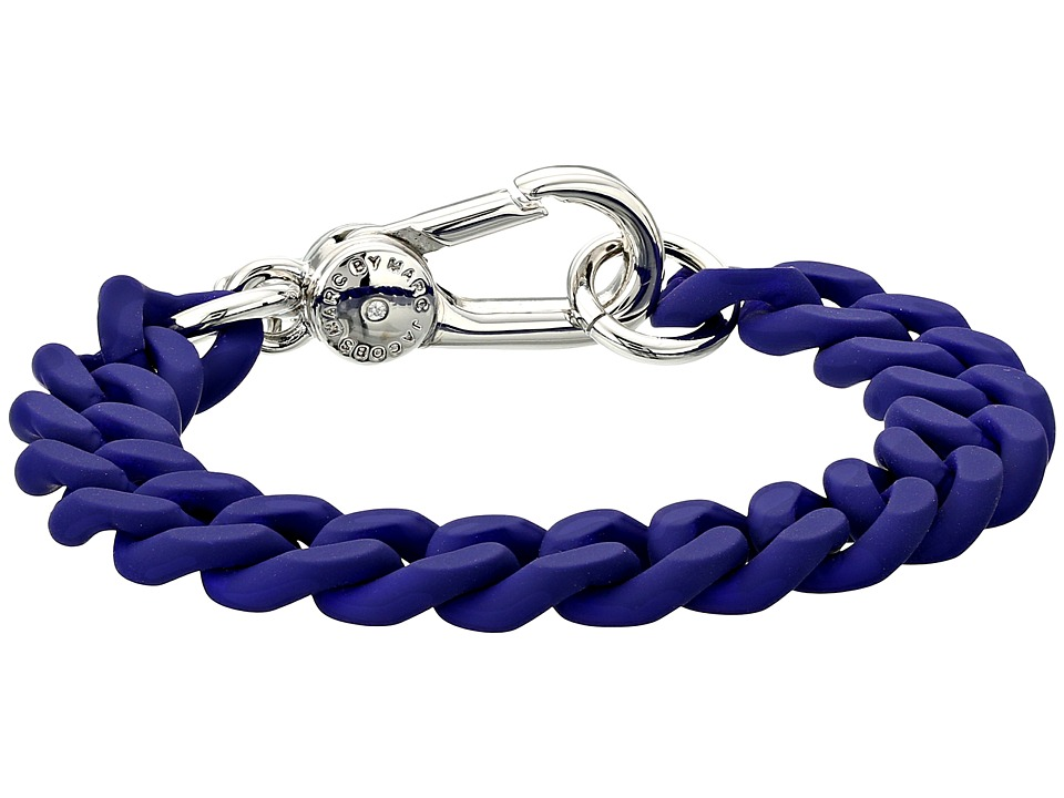 Marc by Marc Jacobs - Key Items Rubber Chain Bracelet (Mineral Blue) Bracelet
