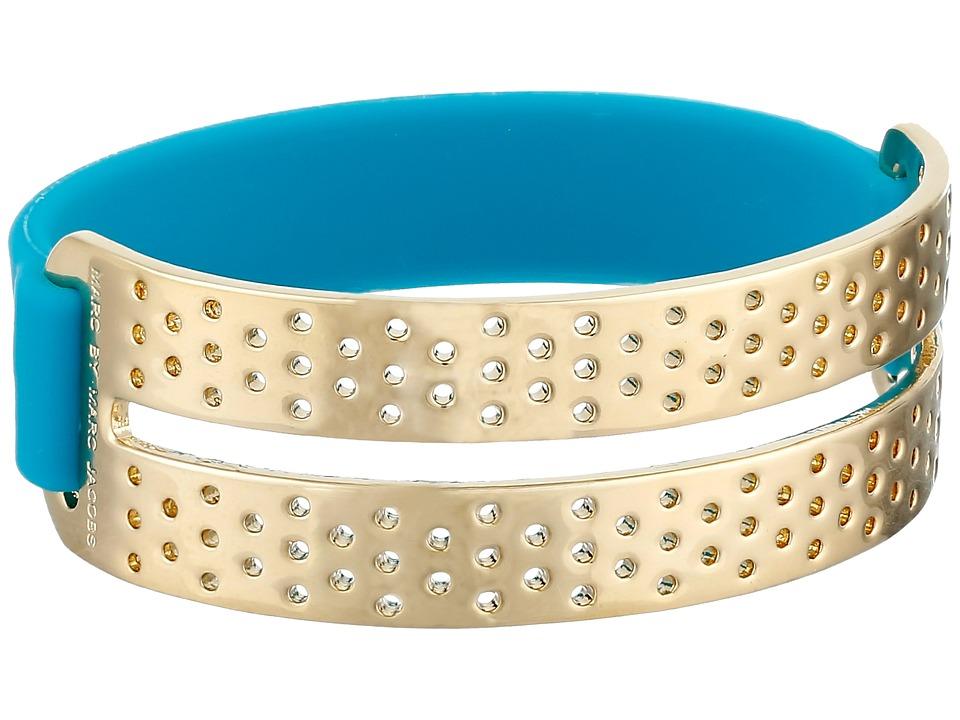 Marc by Marc Jacobs - Key Items Perf-Ection Rubber Bracelet (Wintergreen) Bracelet