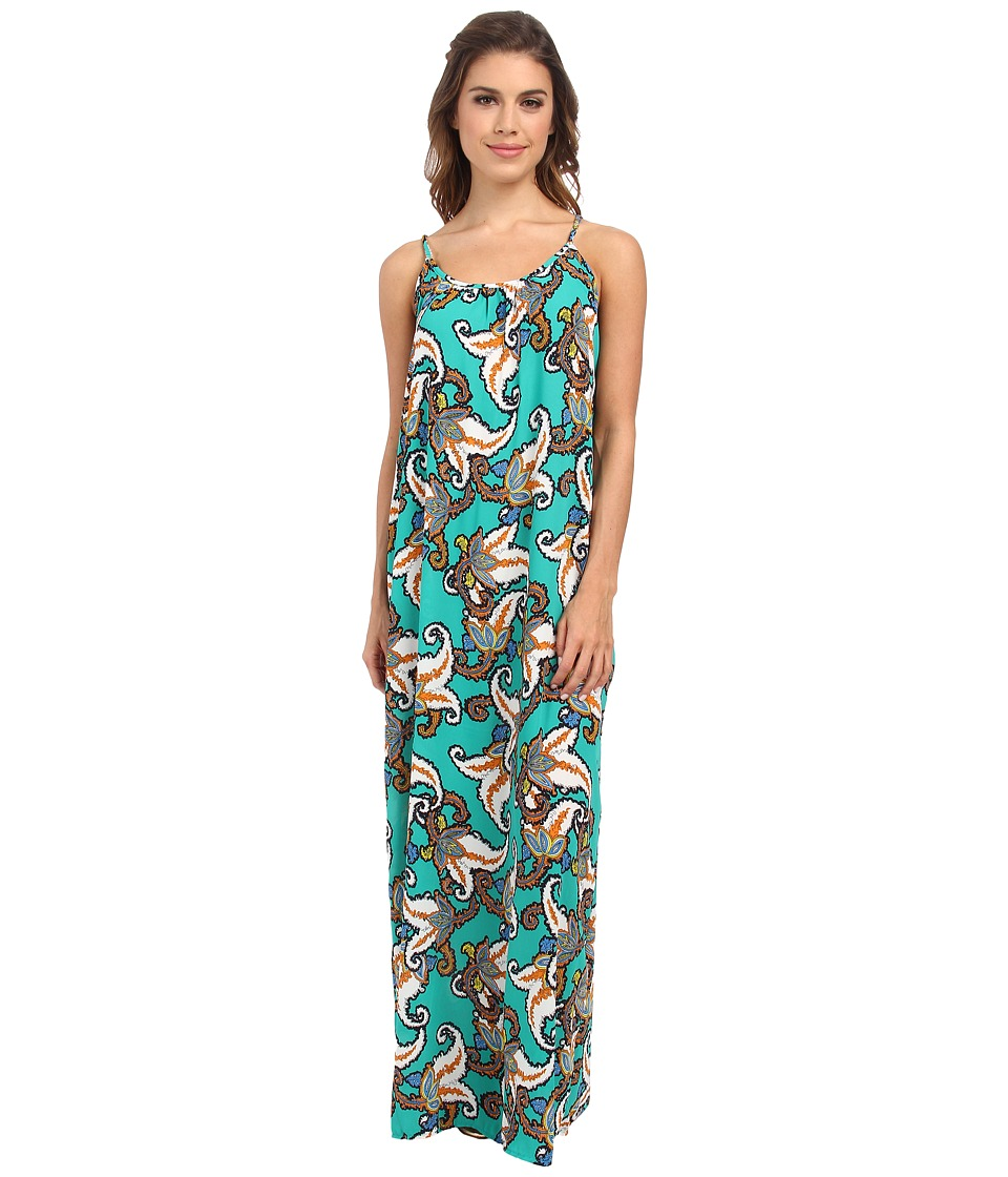 Brigitte Bailey - Calla Maxi (Green) Women's Dress