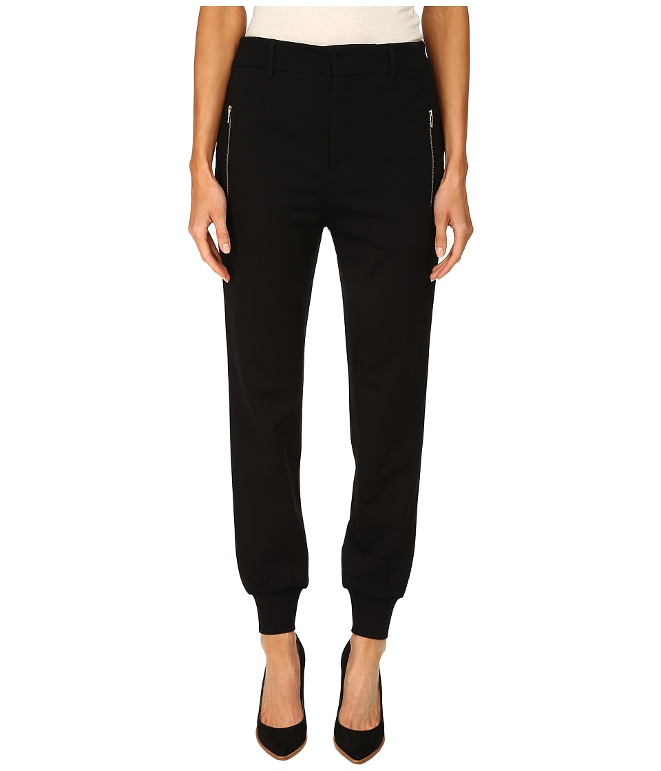 McQ - Tailored Sweatpants (Darkest Black) Women's Casual Pants