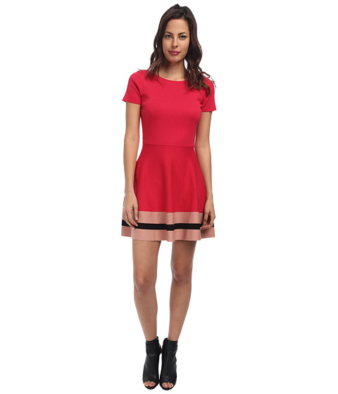 RED VALENTINO - Cotton Yarn Dress (Ribes) Women's Dress