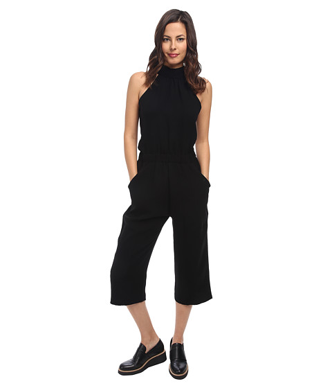McQ - Zipped All In One (Black) Women's Jumpsuit & Rompers One Piece