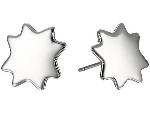 Marc by Marc Jacobs - New Classic Marc Starburst Stud Earrings (Argento) Earring