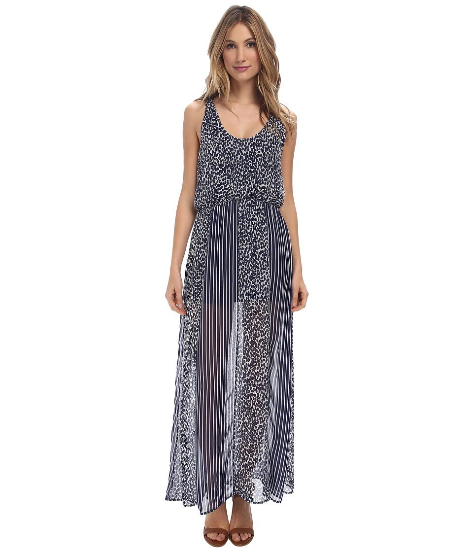 rsvp - Leilani Dress (Navy Leopard) Women's Dress