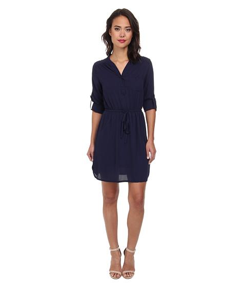 Christin Michaels - Bluebell Dress (Navy) Women