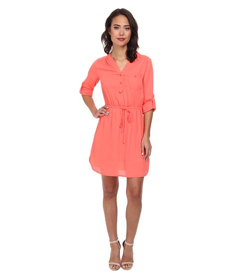 Christin Michaels - Bluebell Dress (Coral) Women