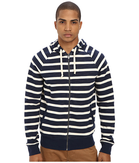 Original Penguin - Yarn Dye Hoodie (Dress Blues) Men