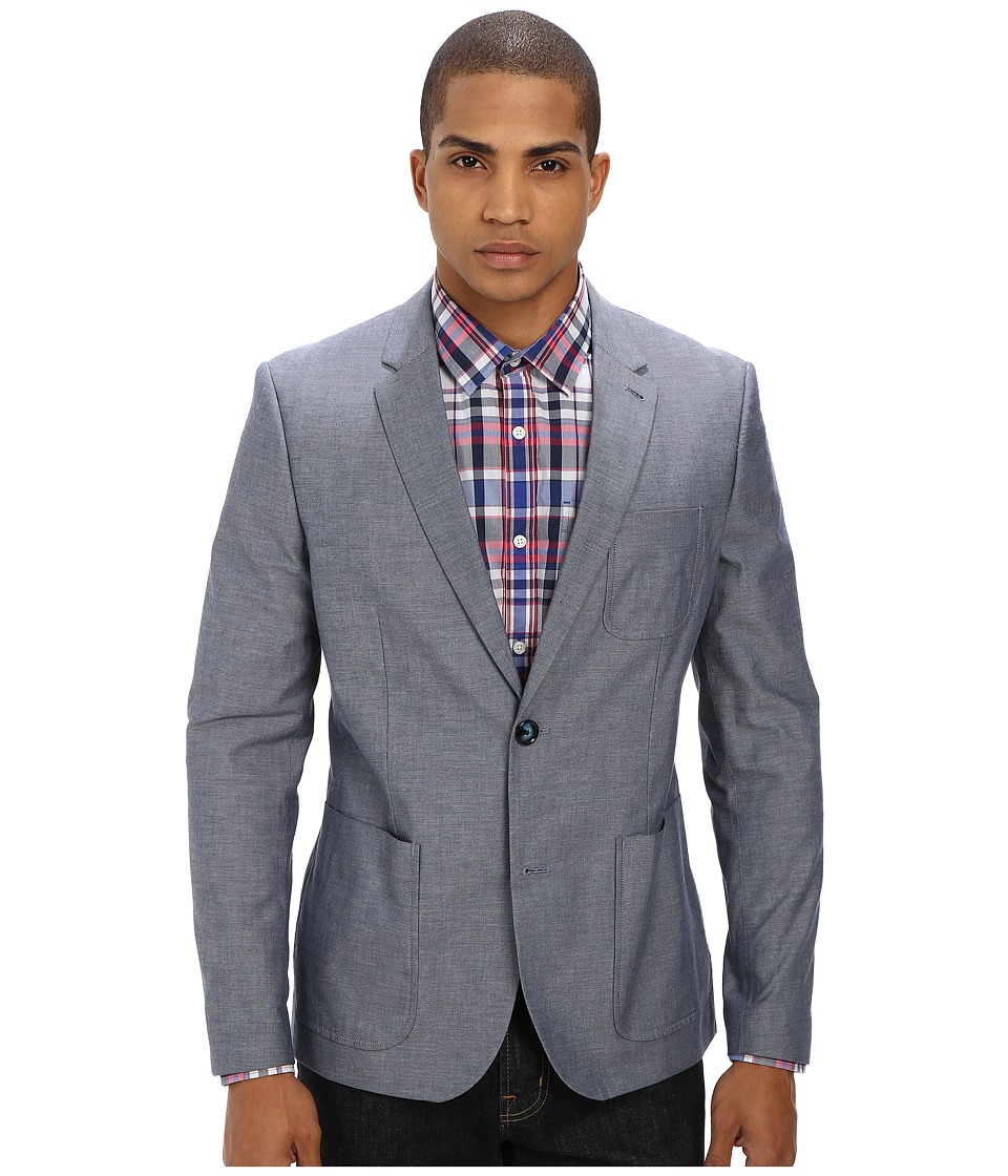 Original Penguin - Club Blazer Oxford (Dress Blues) Men's Jacket