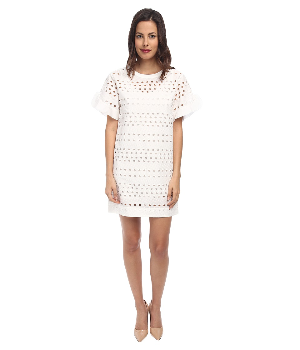 See by Chloe - T-Shirt Dress (White) Women's Dress