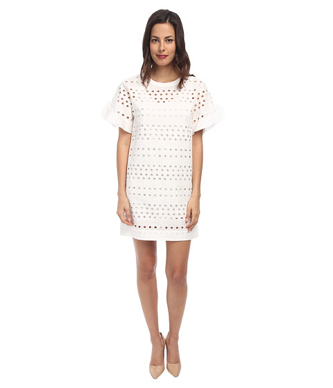 See by Chloe - T-Shirt Dress (White) Women