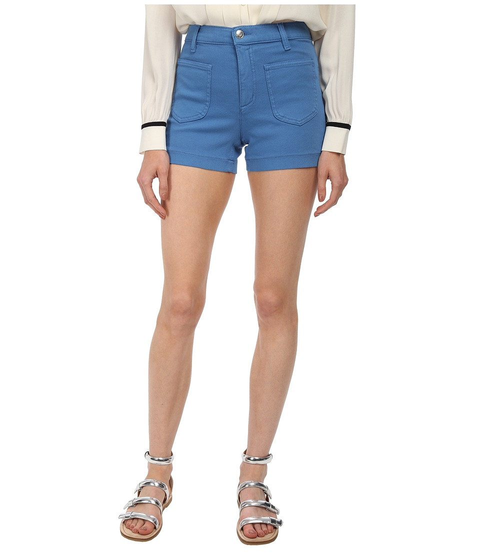 See by Chloe - Bright Denim Short (Marina) Women's Shorts