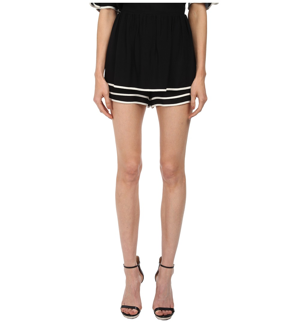 See by Chloe - Puff Shorts (Black w/ Cream) Women's Shorts