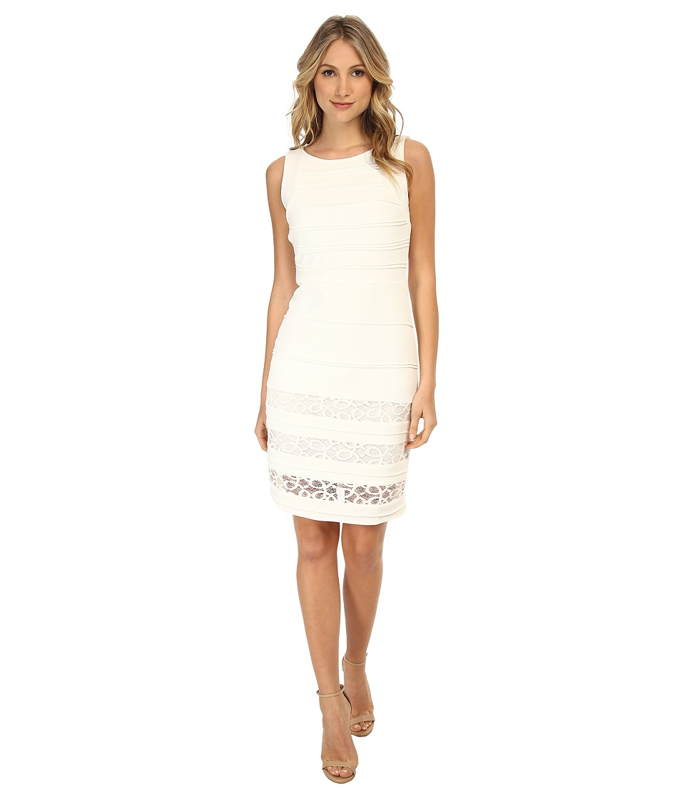 Christin Michaels - Amaryllis Bandage Dress (White) Women's Dress