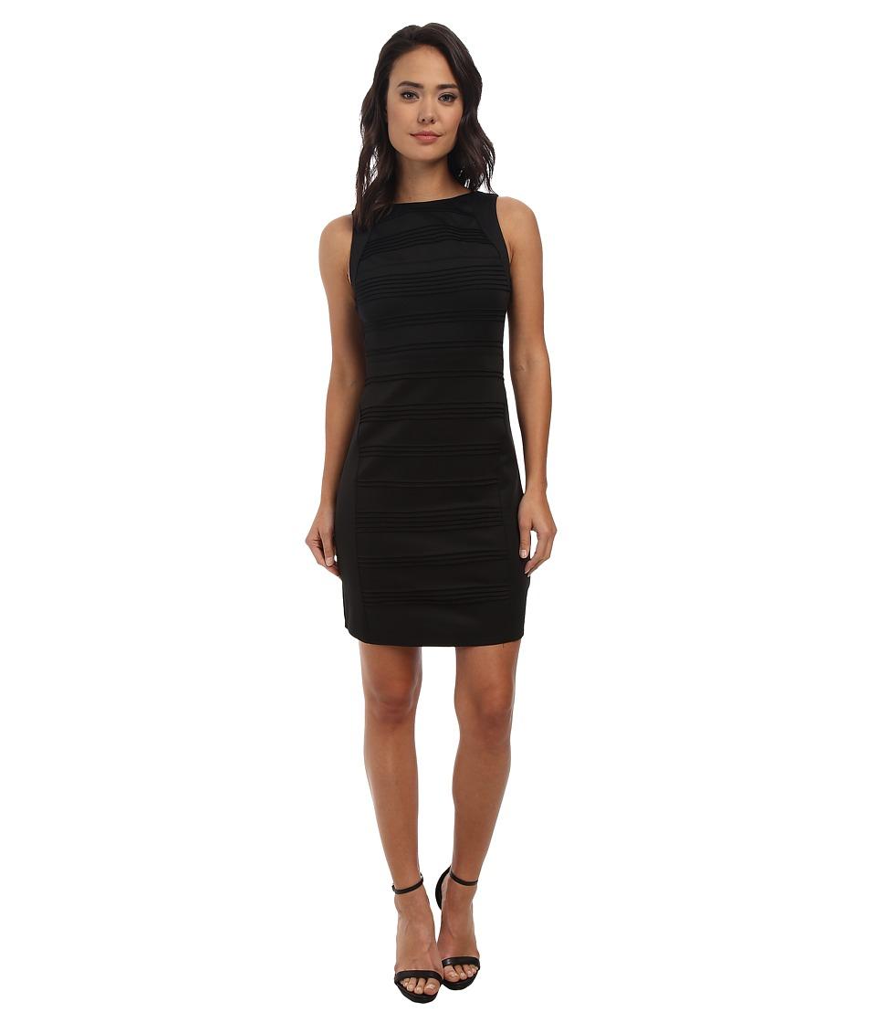 Christin Michaels Blushing Violet Dress (Black) Women
