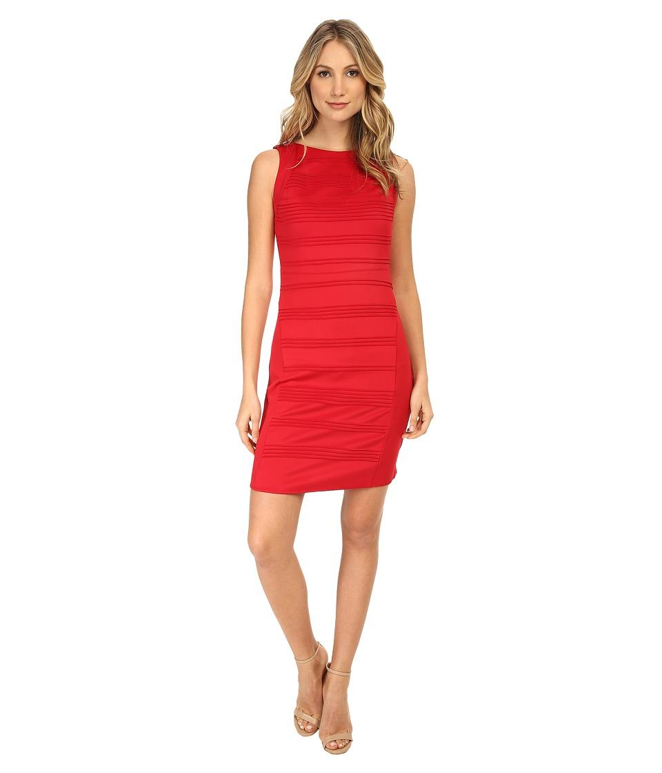 Christin Michaels Blushing Violet Dress (Red) Women