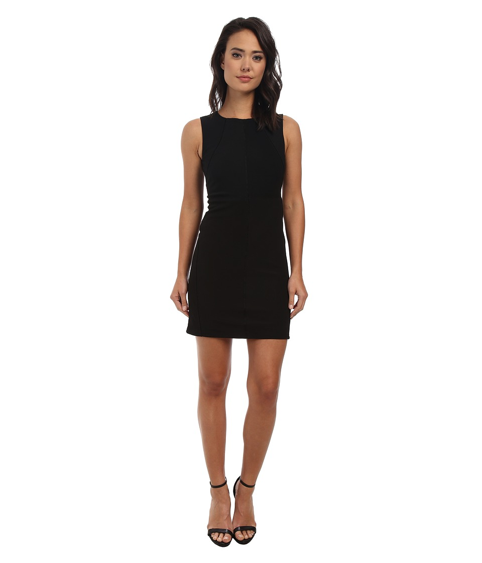 Christin Michaels - Ivy Contour Dress (Black) Women's Dress