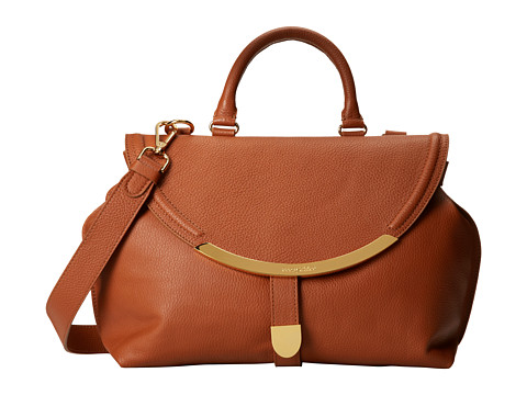 See by Chloe - Lizzie Satchel (Tan) Satchel Handbags