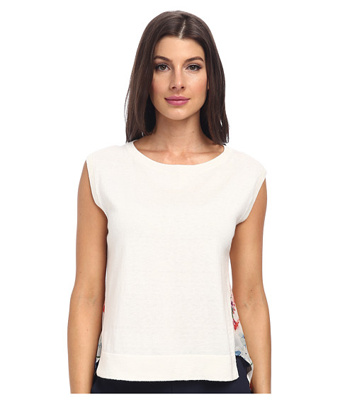Theory - Umalda P. Top (Ivory) Women's Clothing