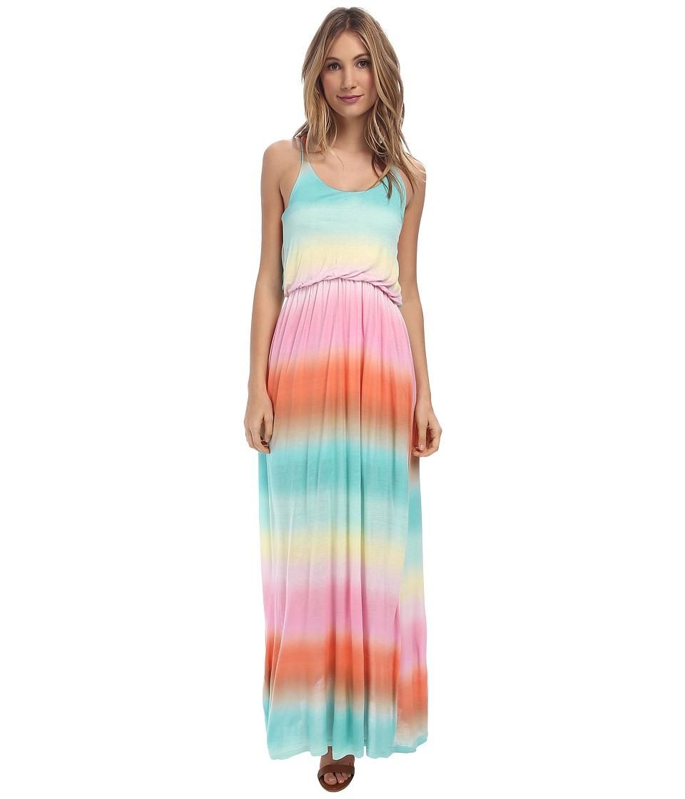 Culture Phit - Rachel Tie Dye Maxi Dress (Rainbow) Women's Dress