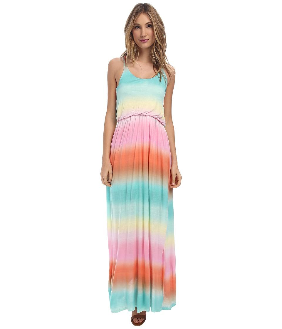 Culture Phit Rachel Tie Dye Maxi Dress (Rainbow) Women