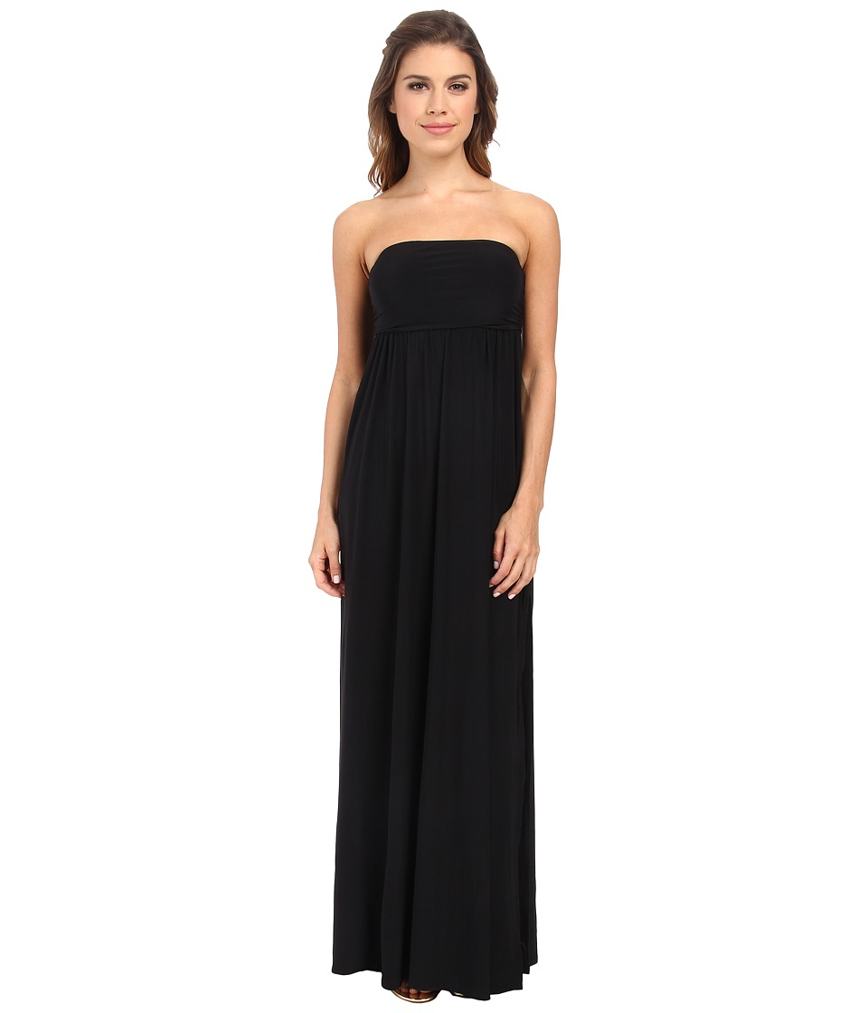 Culture Phit - Holly Strapless Dress (Black) Women's Dress