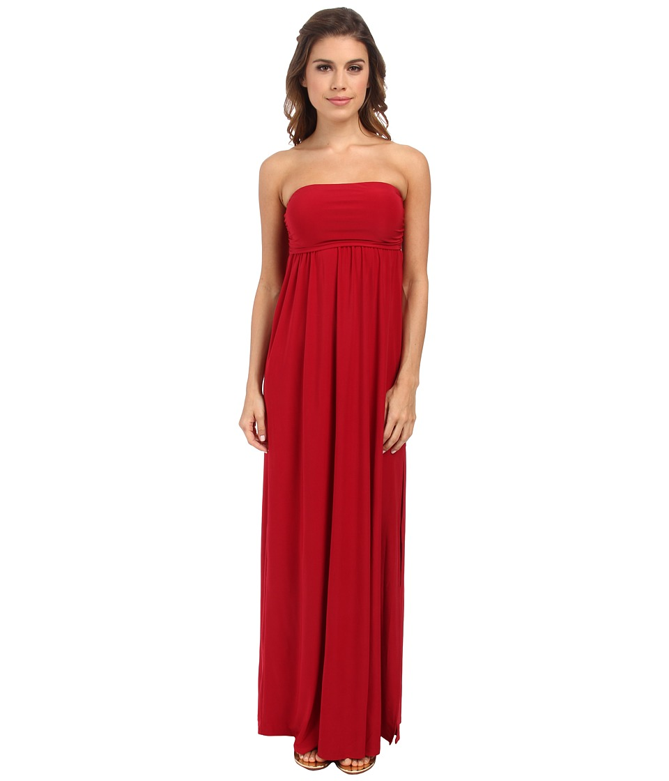 Culture Phit - Holly Strapless Dress (Red) Women's Dress