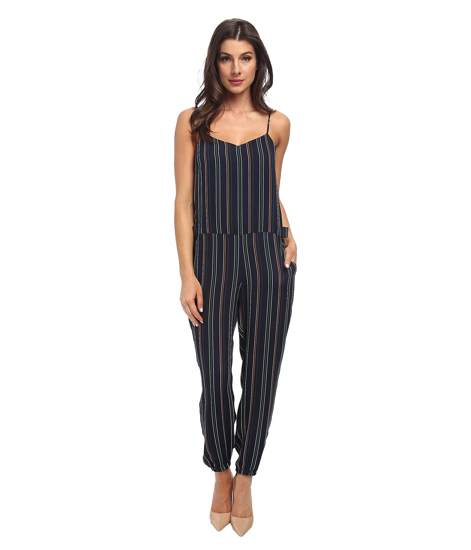 Theory - Stassia Jumpsuit (Holly Green Multi) Women's Jumpsuit & Rompers One Piece