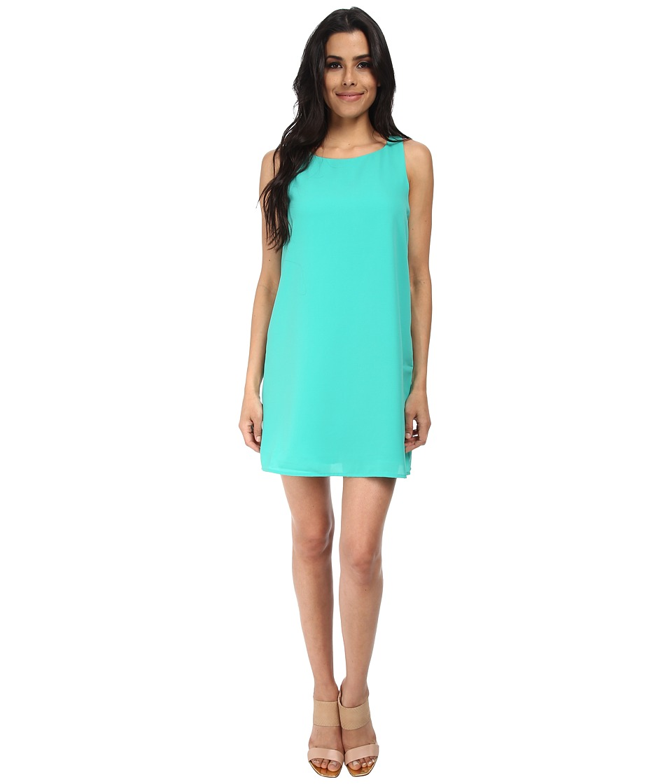 Gabriella Rocha - Poppy Sleeveless Shift Dress (Jade) Women's Dress