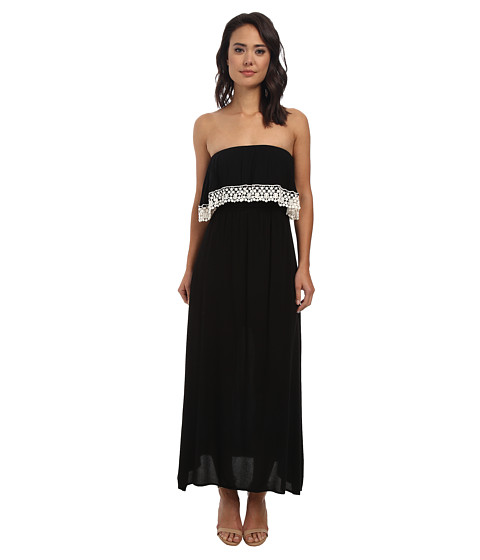 Gabriella Rocha - Azalea Maxi (Black) Women's Dress