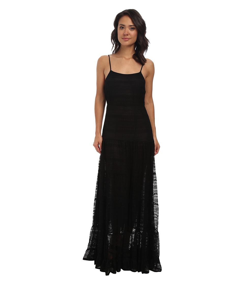 Gabriella Rocha - Petal Lace Maxi (Black) Women's Dress