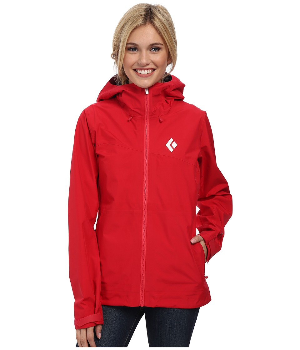 Black Diamond - Liquid Point Shell (Rose Red) Women's Jacket