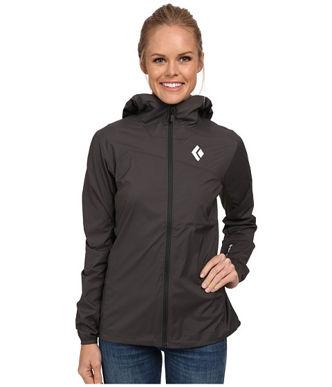 Black Diamond - Alpine Start Hoodie (Slate) Women's Sweatshirt