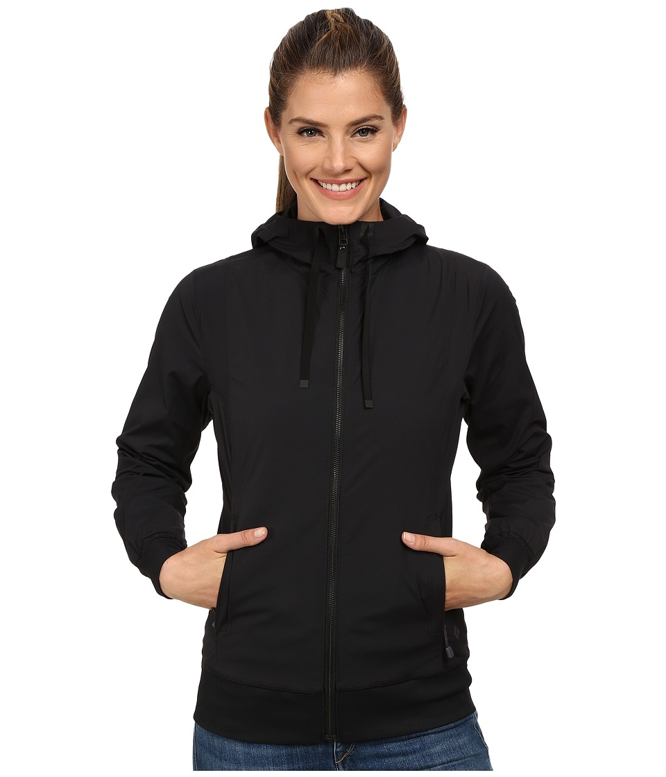 Black Diamond - Sinestra Hoodie (Black) Women's Sweatshirt