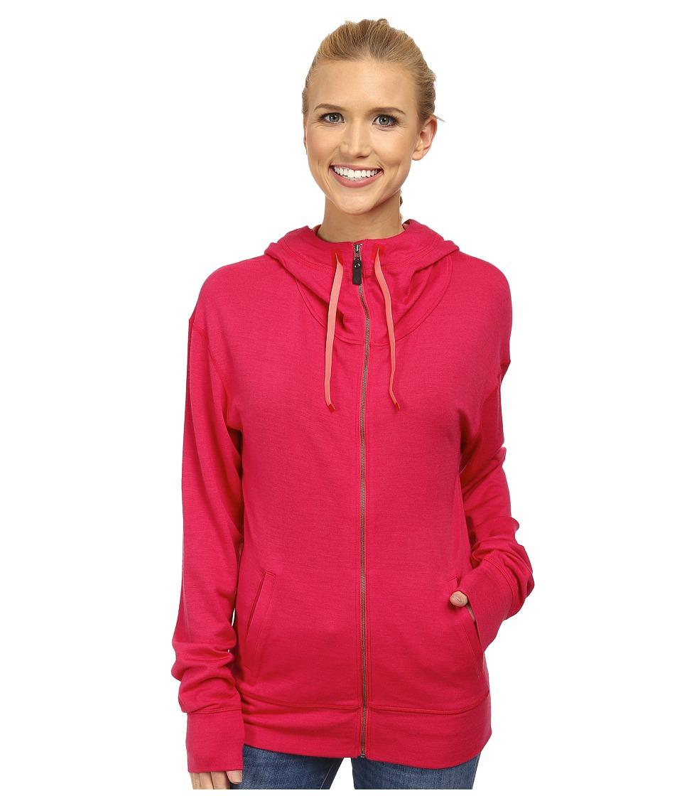 Black Diamond - Castle Valley Hoodie (Rose Red) Women's Sweatshirt