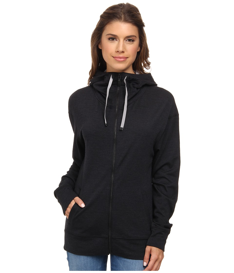 Black Diamond - Castle Valley Hoodie (Black) Women's Sweatshirt