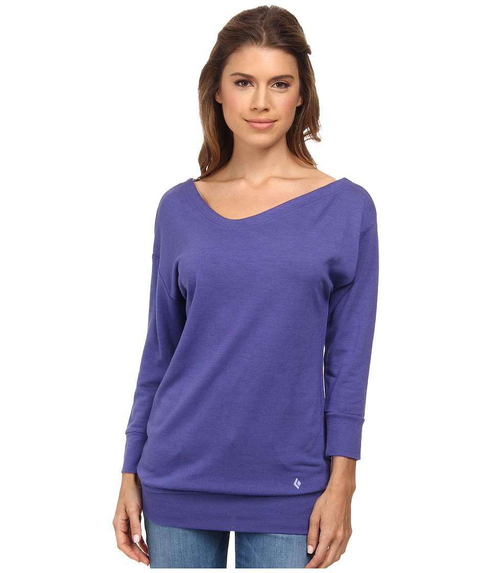 Black Diamond - Fine Jade Tunic (Amethyst) Women's Blouse