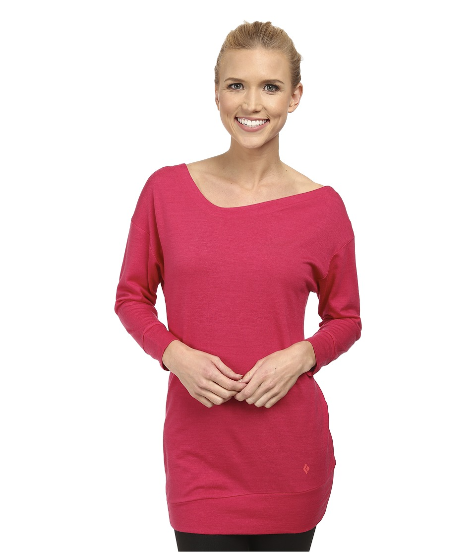 Black Diamond - Fine Jade Tunic (Rose Red) Women's Blouse
