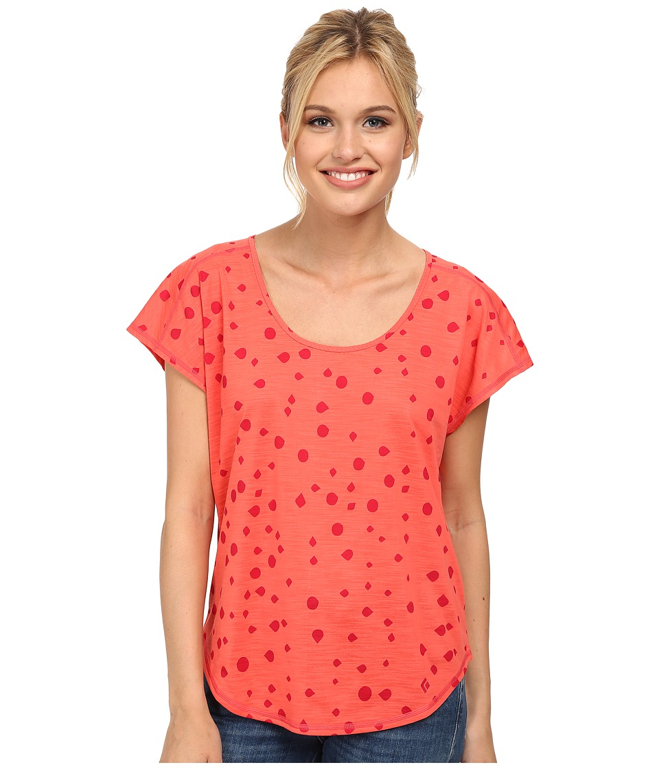 Black Diamond - Open Air Tee (Coral) Women's T Shirt