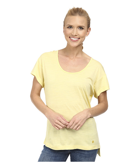 Black Diamond - Ancient Art Tee (Lemon) Women