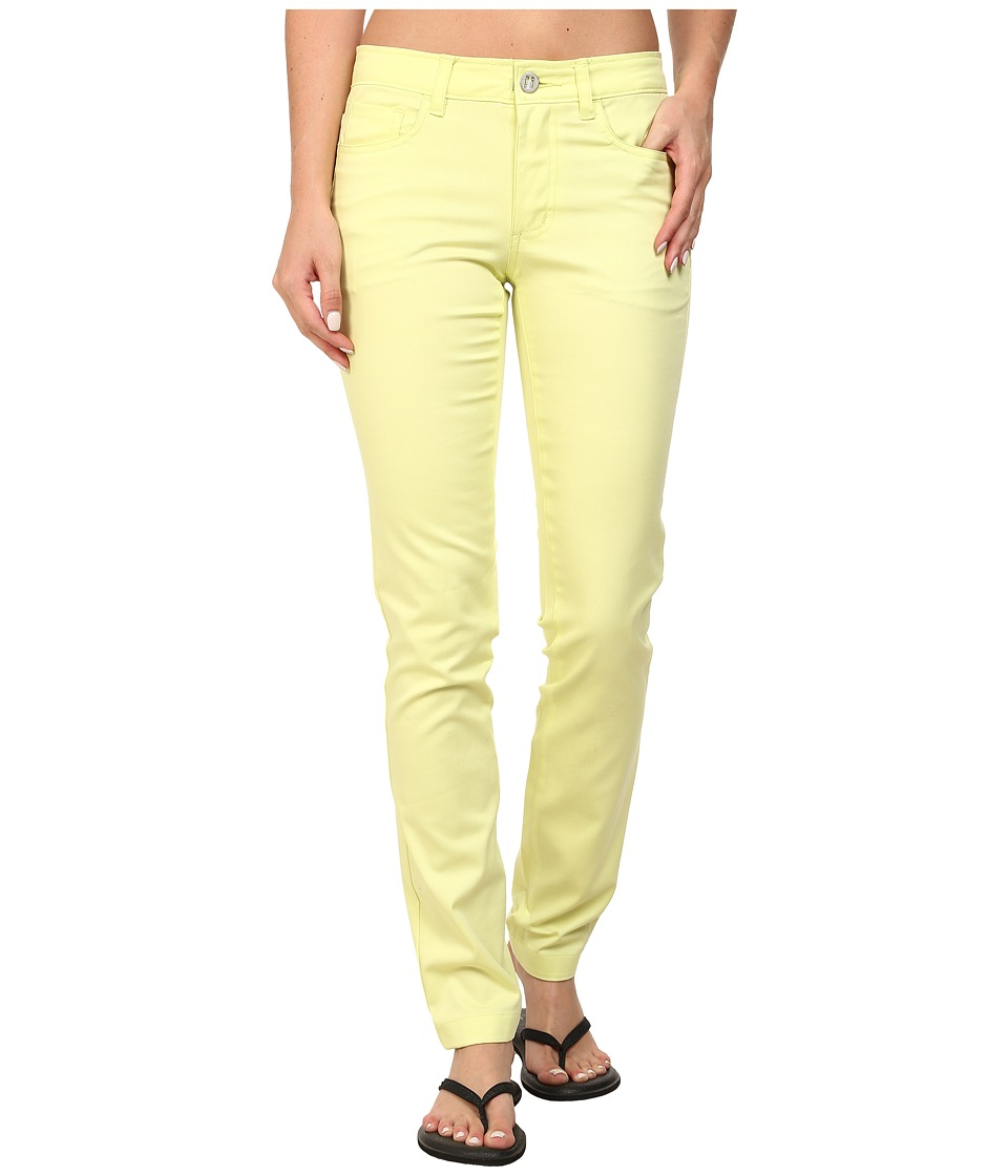 Black Diamond - Stretch Font Pants (Lemon) Women